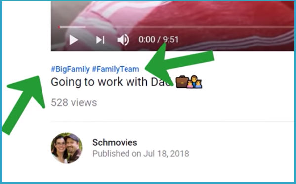 How To Add Hashtags To YouTube Videos